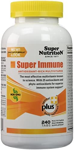 SuperNutrition, Super Immune Multi-Vitamin, High Potency, One Day Tablets, 240 Day Supply
