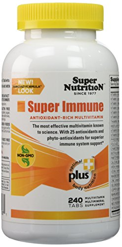 SuperNutrition Super Immune Multi Multivitamins, 240 (Nutrition Super Antioxidants)
