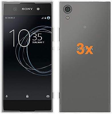 REY 3X Funda Carcasa Gel Transparente para Sony Xperia XA1 Ultra ...
