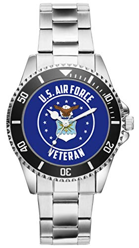 (Gift for US Air Force Veteran Military Soldier Watch 6508)