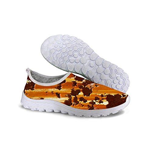 Con Blanco Transpirable Malla Piup Y Impresión Mujer De Livianos Correr Perro Zapatos Para C097 Informales qncwZCcvHW