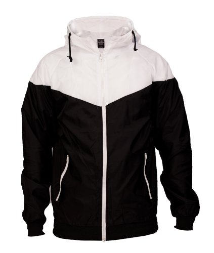 "Urban : ""Arrow Windrunner"" Size: L, Color: black-white …TB148"