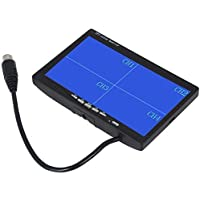 "7"" TFT LCD Car Rearview Quad Split Monitor,Remote Control, 4 Channels RCA Video Inputs - 12V-24V 800480HD Screen w…"
