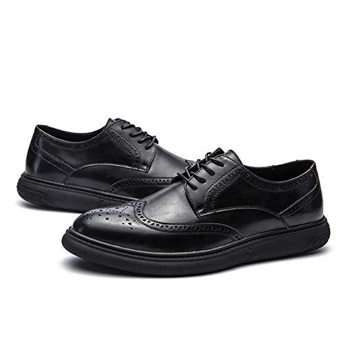 c2337ce77347b Dig dog bone Men s Business Oxford Casual Casual Casual Soft Bottom Regular  Cotton Warm Brogue Shoes Parent B07GH3Z12Z a3cd97