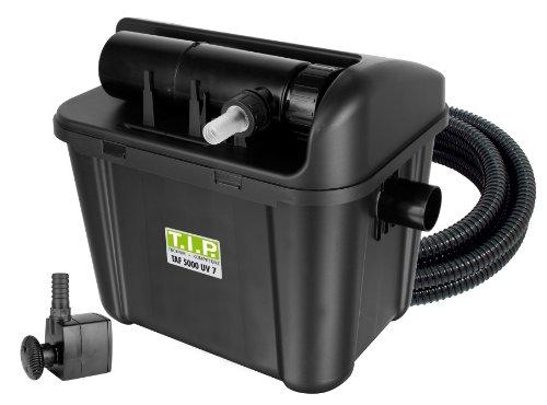 TIP-Teichauenfilter-TAF-5000-UV-7-Schwarz-UV-C-7-Watt-bis-5000-Liter