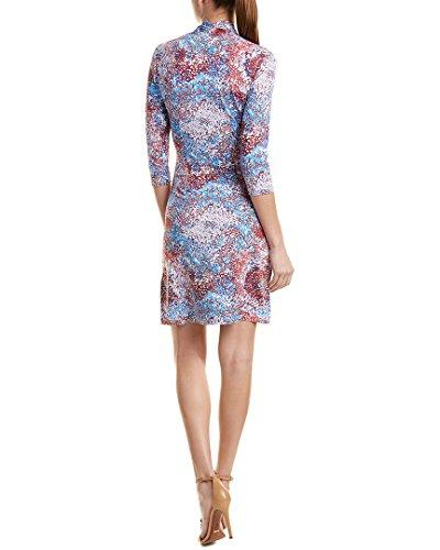 J Dress Mclaughlin Cloth Catalina S Womens Blue Shift 8frT8X