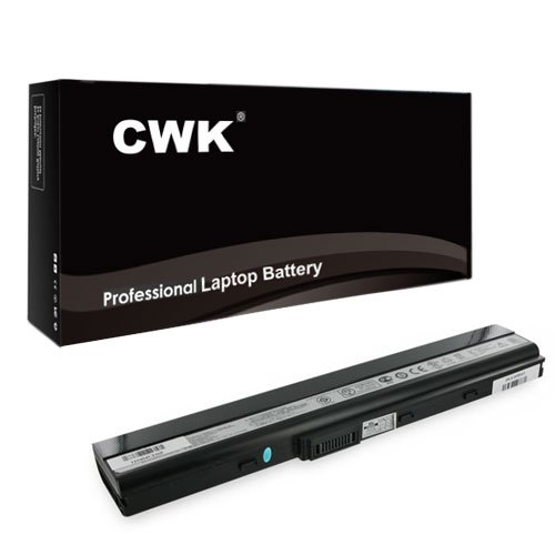 CWK® New Replacement Laptop Notebook Battery for ASUS A40JA A40JE A52JT B53S K52JT N82JQ A40JP A40 A40De A41-K52 A42-B53 A42-K52 A42-N82 K52L681 A40J B53E USA A31-B53 A31-K42 A31-K52 A32-K42 A32-K5 A32-N82 A41-B53 ASUS 70-NXS1B3200Z 90-NXM1B2000Y 90-NYX1B1000Y 07G016CS1875 07G016CX1875 07G016G51875 70-NXM1B1200Z A42J K52 K52F K52J K52JB K52JC K52JE K52JK K52JR A32-K52 A40J A42 A52 A62 B53 F85 F86 K42 K52 K62 N82 X67 X5I X52 X42 P62 P82 P42 P52 A32-K52 A32-N82 A42-K52 A42-N82