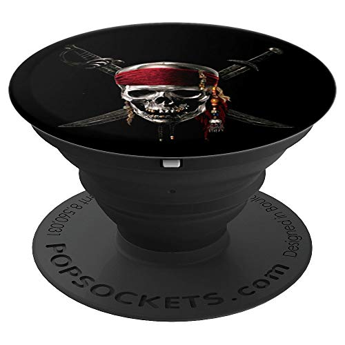 Jolly Rogers Black Spot Black Pirate Mark Gift Idea - PopSockets Grip and Stand for Phones and Tablets ()