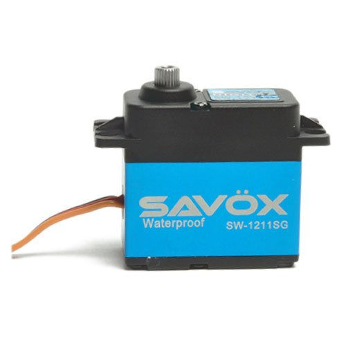 Savöx SW1211SG Waterproof Coreless Digital Servo .10/208.3 with Aluminum Mid Case