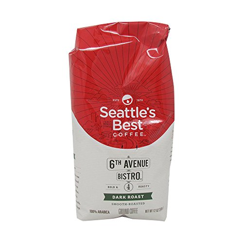 (2 Pack) Seattle's Best Coffee, Signature Blend No.4, Medium Dark & Rich, 12 oz each