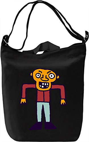 Spooky guy Borsa Giornaliera Canvas Canvas Day Bag| 100% Premium Cotton Canvas| DTG Printing|