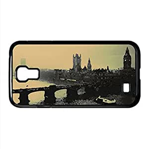 London Black And White Watercolor style Cover Samsung Galaxy S4 I9500 Case (United Kingdom Watercolor style Cover Samsung Galaxy S4 I9500 Case) by icecream design