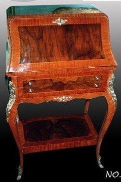 Barock Sekretär Antik Stil Bureau Plat LouisXV MoSc0576