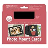 3 Pack Photo Mount Cards 10-Pack Black (Product Catalog: Paper Media, Canvas & Surfaces)