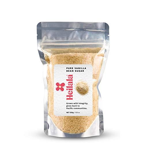 (Vanilla Sugar - Heilala Pure Vanilla Bean Sugar (7.05 oz), Perfect for Baking, Dusting over Desserts, Coffee, Tea or Oatmeal)