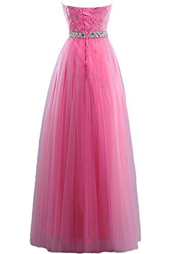 TOSKANA BRAUT - Vestido - trapecio - para mujer Beige Rosa