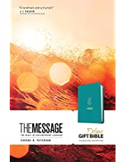 The Message Deluxe Gift Bible (Leather-Look, Hosanna Teal): The Bible in Contemporary Language