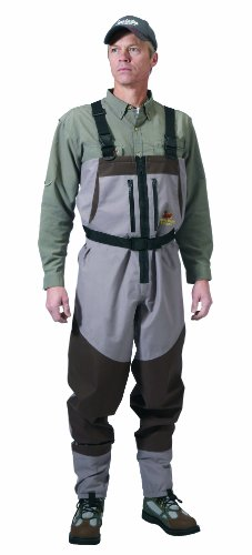 Caddis Northern Guide Zippered Breathable Stockingfoot Wader, XX-Large Stout