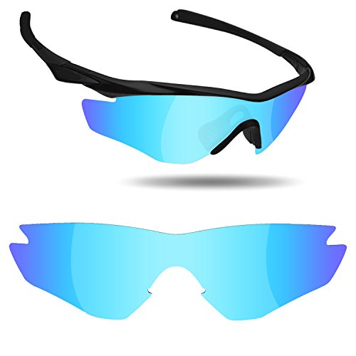 Fiskr Anti-saltwater Replacement Lenses for Oakley M2 Frame Sunglasses - Various - Lenses Color For Sunglasses Different