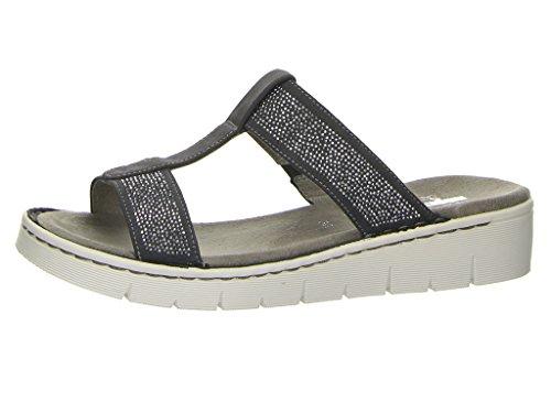 Jenny Damen Korsika-Sport Pantoletten Grau (Grey)
