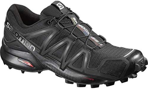 Salomon Women's Trail Running Shoes, Speedcross 4 W, Black