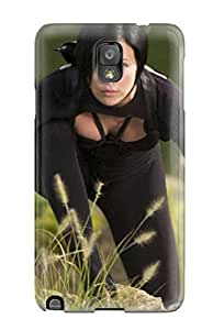 Galaxy Note 3 Hard Back With Bumper Silicone Gel Tpu Case Cover Charlize Theron 151 by icecream design