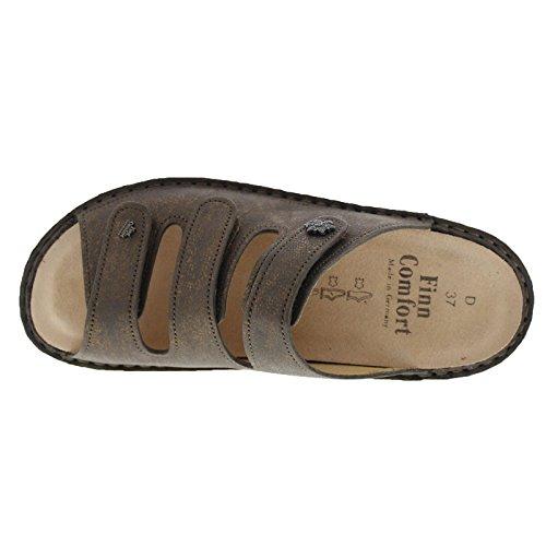 Comfort Finn Womens Menorca Leather Bronze Sandals agSq1ZgnP