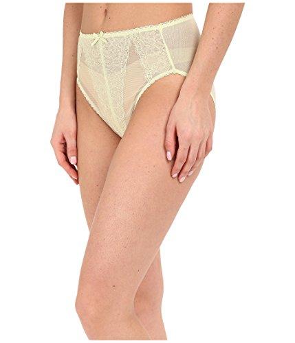 Wacoal Women's Retro Chic Hi-Cut Brief Panty, White Jade, Small