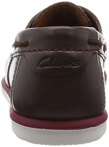 Clarks Kelan Step - Náuticos de cuero hombre marrón - Braun (Dark Brown Lea)