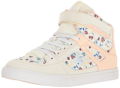 DC Kids' Spartan High SP EV Sneaker - Cream - 13.5 M US L...