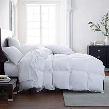 The Ultimate All Season Comforter Deal Hotel Luxury Down Alternative Comforter Duvet Insert with Tabs Washable and Hypoallergenic Twin Blue