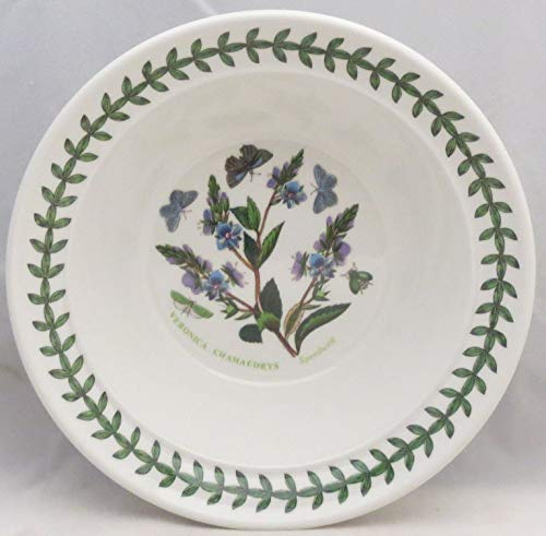 Portmeirion Botanic Garden Rim Cereal/Oatmeal Bowl (Speedwell)