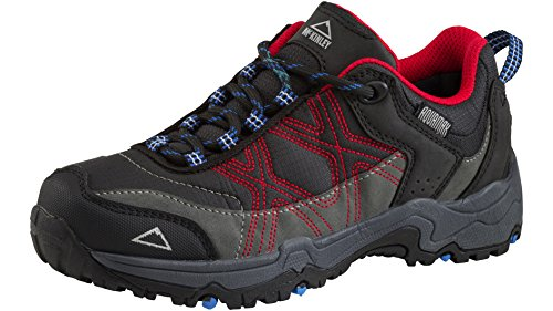 Multi de zapatos Kona II Low AQX Jr. GRAU/SCHW./ROT/BLAU