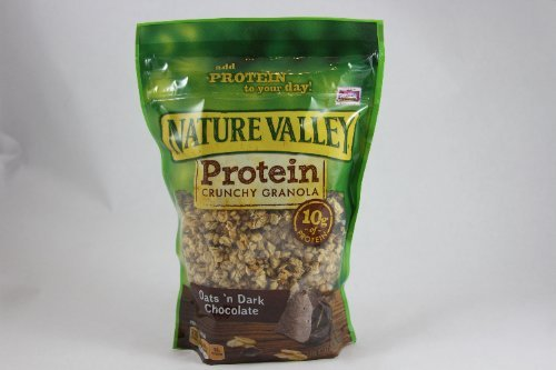 Nature Valley Crunchy Granola Oats 'n Dark Chocolate, 11 OZ (Pack of 4)