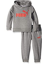 PUMA Baby-Boys Boys' Fleece Zip Up Hoodie Set Hooded Sweatshirt