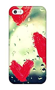 Premium Heart Beat Back Cover Snap On Case For Iphone 5/5s