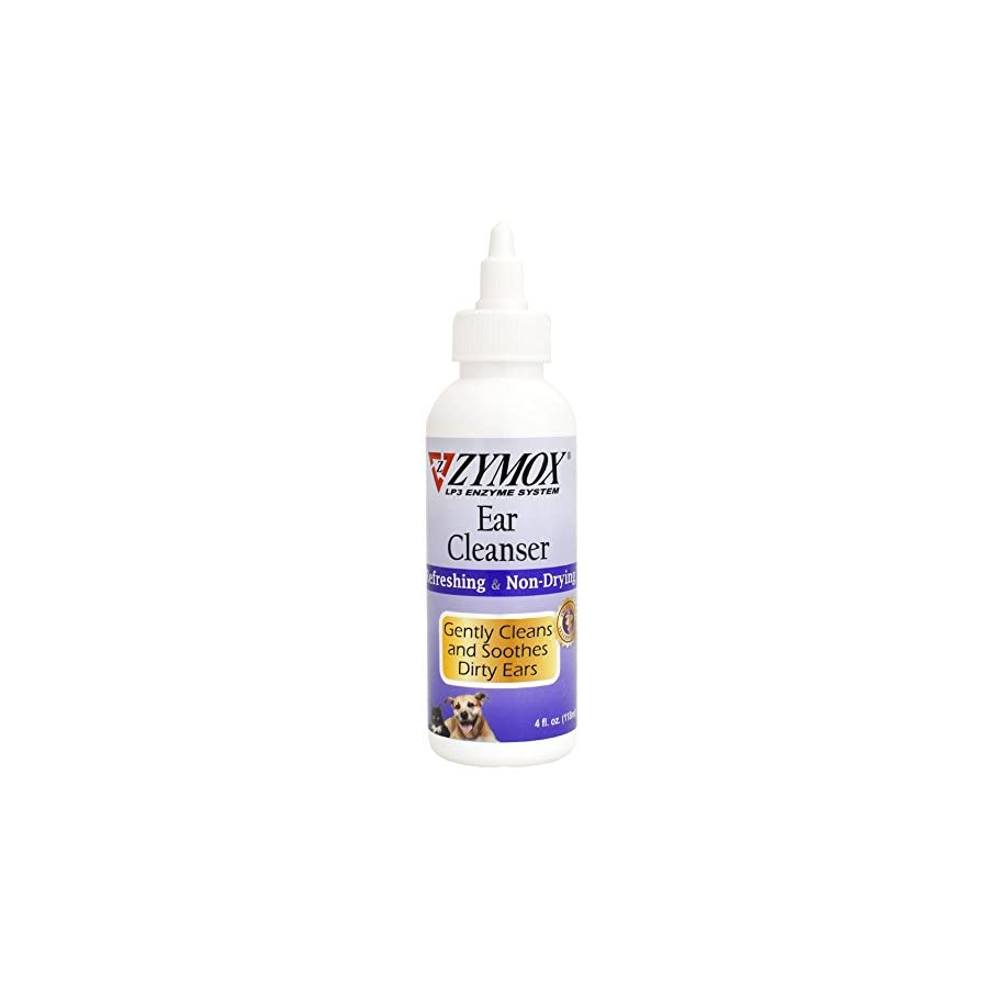 Pet King Brands Zymox Ear Cleanser With Bio-Active Enzymes, 4 oz.