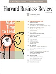 Harvard Business Review, September 2004