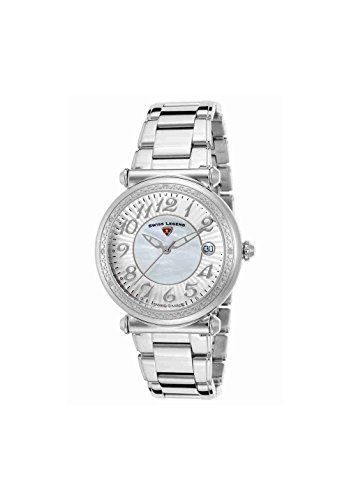Swiss Legend Women's 'Bel Air' Swiss Quartz Stainless Steel Casual Watch, Color:Silver-Toned (Model: 16330SM-22)
