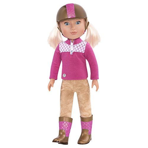 Glitter Girls by Battat - Ride and Shine Deluxe Equestrian Outfit - 14 inch Doll Clothes and Accessories for Girls Age 3 and Up – Children's Toys