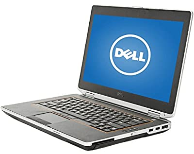 Dell Latitude E6420 Flagship 14.1-Inch Business High Performance Laptop (Intel Core i5 up to 3.2GHz, 8GB RAM, 128GB SSD, DVD, Wifi, Windows 10 Professional 64-bit) (Certified Refurbished)