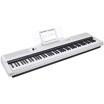 the one smart keyboard pro 88 key digital piano keyboard portable digital piano. Black Bedroom Furniture Sets. Home Design Ideas