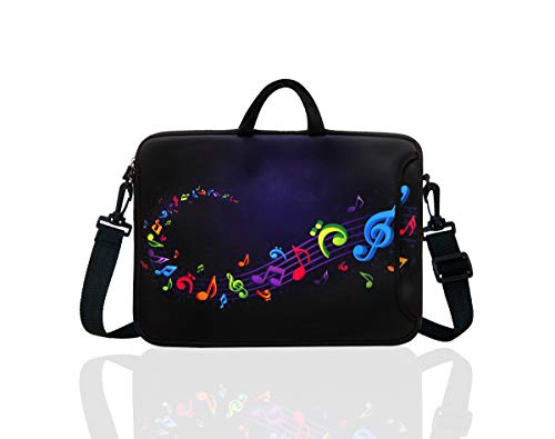 TAIAN 11.6-Inch to 12.5-Inch Neoprene Laptop Shoulder Messenger Bag Case Sleeve for 11 11.6 12 12.2 12.5