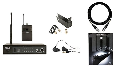 CAD Stagepass IEM w/ 101 Singing Tips & Mogami Premium XLR Cable Bundle by CAD Audio