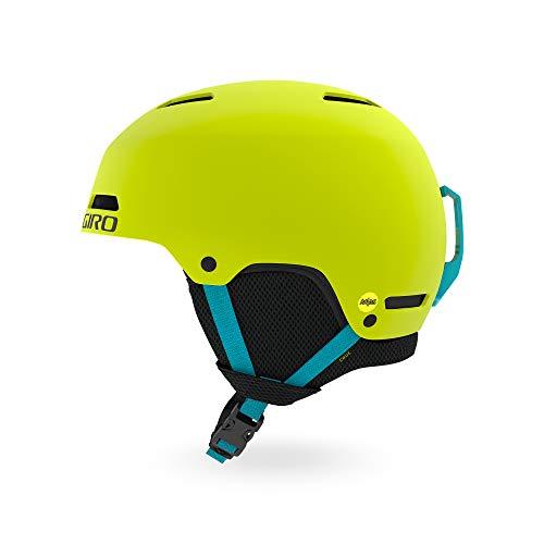 Giro Crue MIPS Youth Snow Helmet - Matte Citron - Size XS (48.5-52cm)