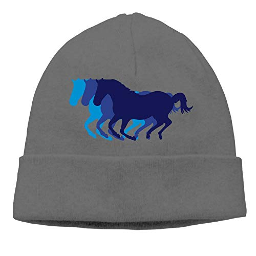 Lichang Beanie Hats Women's Winter Fashion Running Horses -