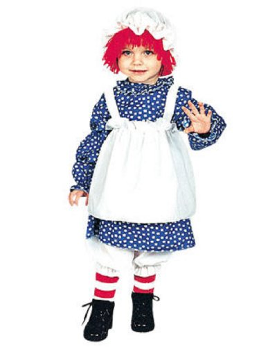 RAGGEDY ANN TODDLER 1 TO 2 (Toddler Raggedy Ann Costume)