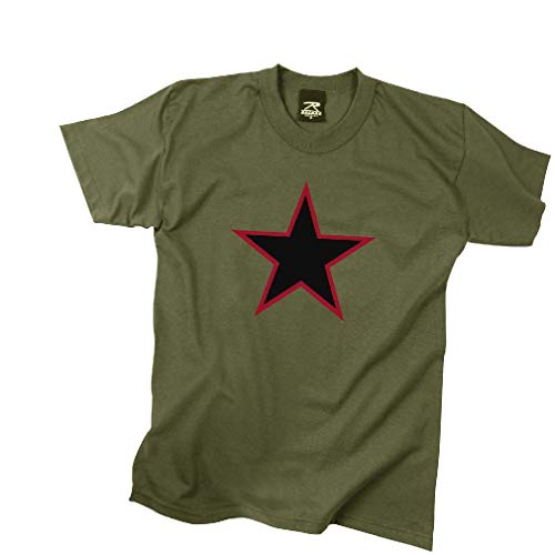 (BlackC Sport Red China Star T-Shirt Olive Drab)