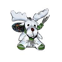 Salzmann Cute Reflective Polyester Key Toy for children, Reflective pendant for Pupils bag, Reflective Doll for children