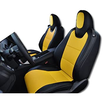 Amazon Com Iggee 2010 2015 Chevy Camaro Black Yellow